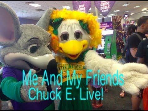 Chuck E. Cheese's Tampa Fl Chuck E. Live: Me And My Friends