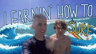 Video Learning How To Surf w/ KianAndJc download MP3, 3GP, MP4, WEBM, AVI, FLV November 2017