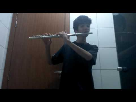 Bum Bum Tam Tam - Solo (Flauta Transversal - Com Notas)