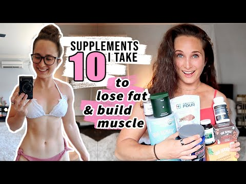 10 Best & UNEXPECTED SUPPLEMENTS for WEIGHT LOSS & BUILDING MUSCLE | What I Take & Recommend