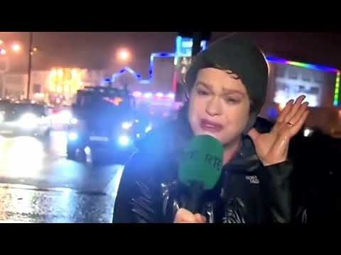 [Must See] News Reporter Hit By Stop Sign Remix