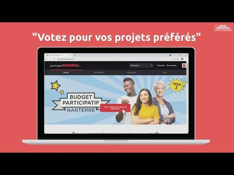 Budget participatif : comment voter ?