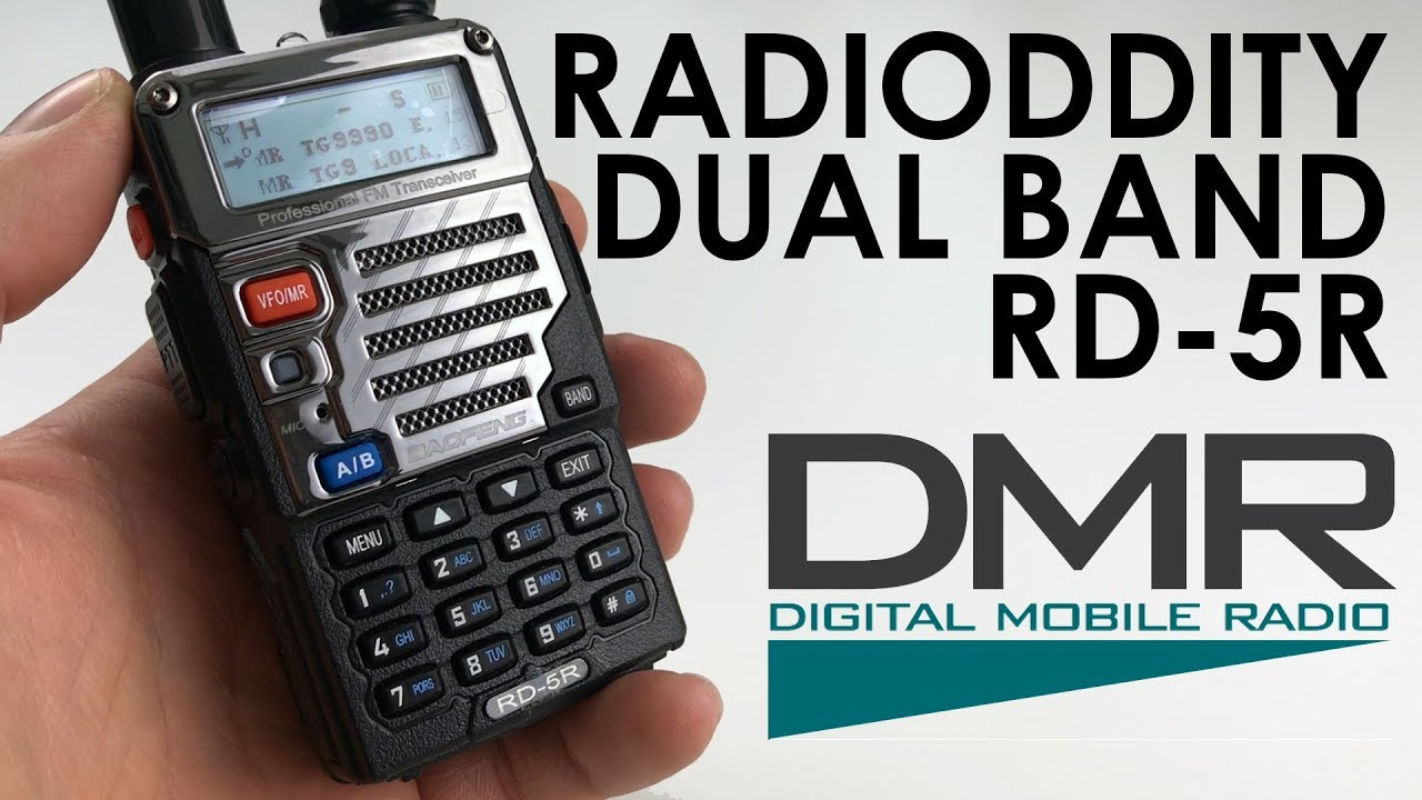 Radioddity Baofeng RD-5R - The Cheapest True DMR Radio Available?