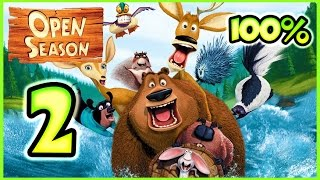 Open Season Walkthrough Part 2 (X360, Wii, PS2, PC, XBOX) 100% Mission 4 - 5