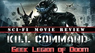 KILL COMMAND ( 2016 Vanessa Kirby ) aka IDENTIFY Sci-Fi Movie Review