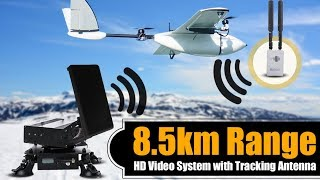 8.5km Range HD Video System with Tracking Antennas