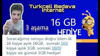 Turkcell 16 GB Yeni Kampanya