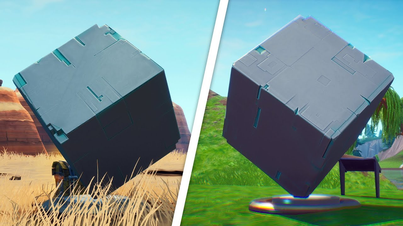 Visit A Memorial To A Cube In The Desert Or By A Lake Location Fortnite Worlds Collide Challenge