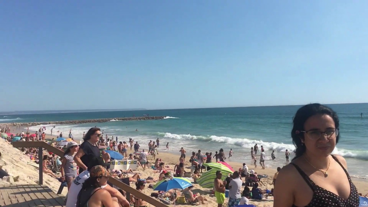 Отдых в Португалии. Пляж Costa da Caparica