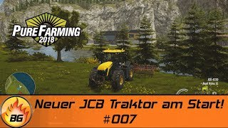 PURE FARMING 2018 - PREVIEW #007   Neuer JCB Traktor am Start!   Let's Play [HD]