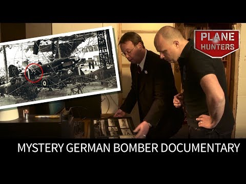 Aircraft Mystery - The Mystery German Bomber