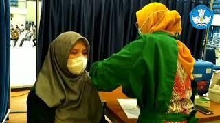 Vaksinasi Covid-19 kepada seluruh pegawai BP PAUD Dan Dikmas Prov. Sulawesi Selatan