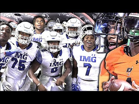 🔥🔥 Last Game Of The Year for #3 IMG Academy vs #1 Team in Alabama Hoover High