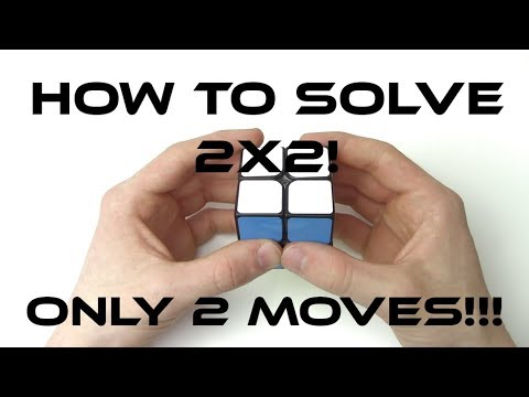 How To Solve The 2x2 Rubik's Cube: Easiest Tutorial
