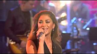 Nicole Scherzinger sings
