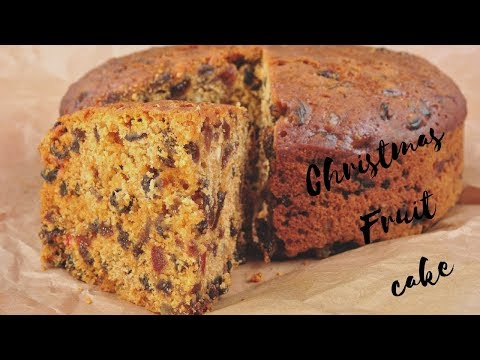 SUPER EASY RICH FRUITCAKE RECIPE/ BOILING  METHOD