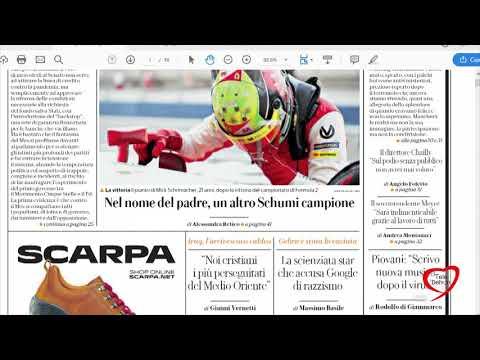 I giornali in edicola - la rassegna stampa 07/12/2020