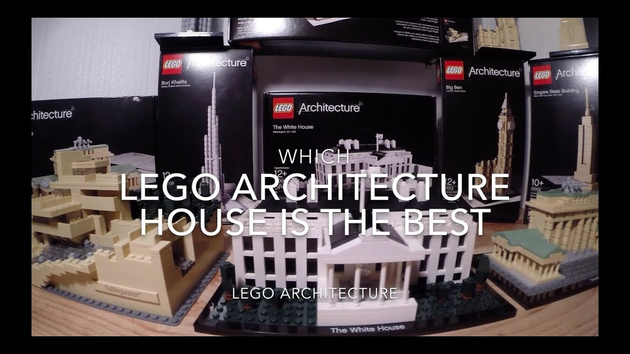wich is the best lego architecture house? white house/falling