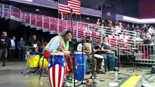 Drum Like a Lady | Bernie Sanders Rally Philly