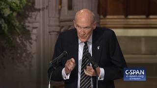 Former Senator Alan Simpson tribute at State Funeral for President George H.W. Bush. Full video here: http://cs.pn/2E3pIiE.