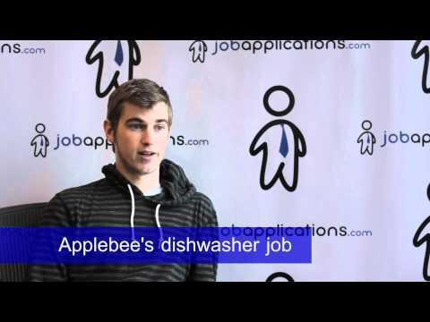 Applebee's Interview – Dishwasher