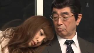 Funny Japanese Show  Sleeping On The Train 3