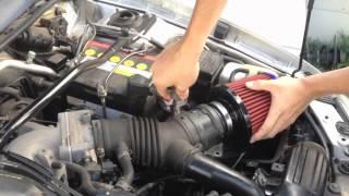 FusionCarMods || How to Install a Pod Filter on a car with a MAF sensor