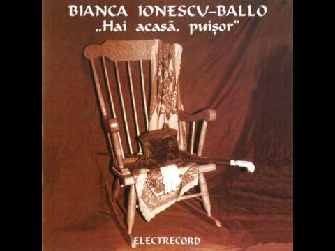Bianca Ionescu-Ballo - Prima poezie