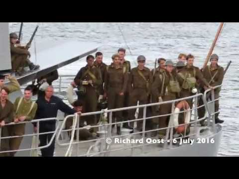 Dunkirk behind the scenes. The extra's from the Netherlands and Urk.