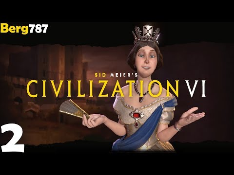 Civilization 6 | Lets Play England | Deity #2