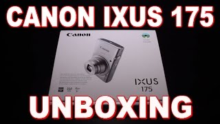 Canon IXUS 175 Unboxing & First Look