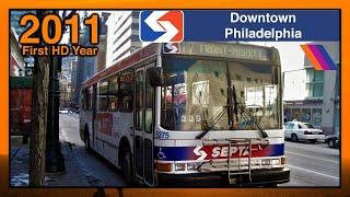 Downtown Philadelphia Buses - SEPTA Action Series