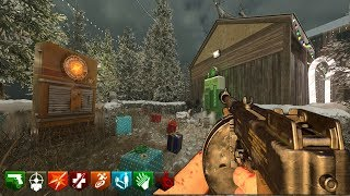 XMAS IN THE CLOUDS CUSTOM ZOMBIES MAPA NAVIDEÑO | BLACK OPS 3 ZOMBIES MOD TOOLS