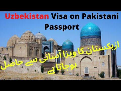 How Get Uzbekistan Visa On Pakistani Passport
