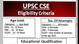 UPSC Pattern,Eligibility,Pre,Mains, Interview| IAS परीक्षा की पूरी जानकारी ||