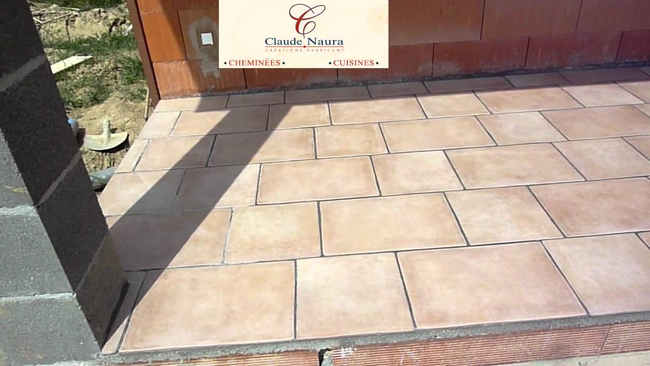 Pose d 39 un carrelage ext rieur pour terrasse par william for Pose de carrelage exterieur sur chape beton