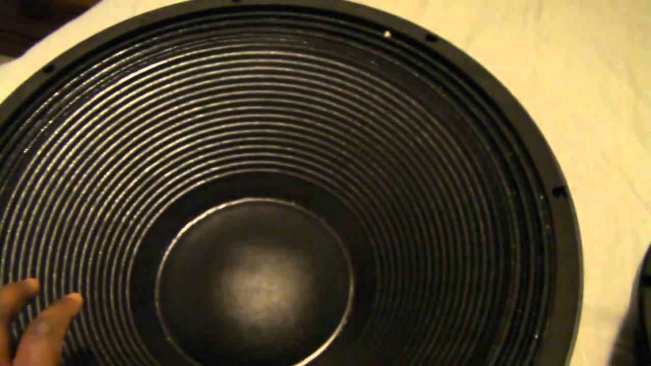 DJ Speakers Cerwin Vega EL36c upgraded to BC 18TBX100