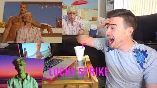 Troye Sivan - Lucky Strike Music Video Reaction(MY HEART!!)