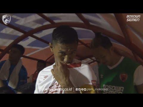 BEHIND THE SCENE - PSM MAKASSAR VS HOME UNITED ( SINGAPURA)