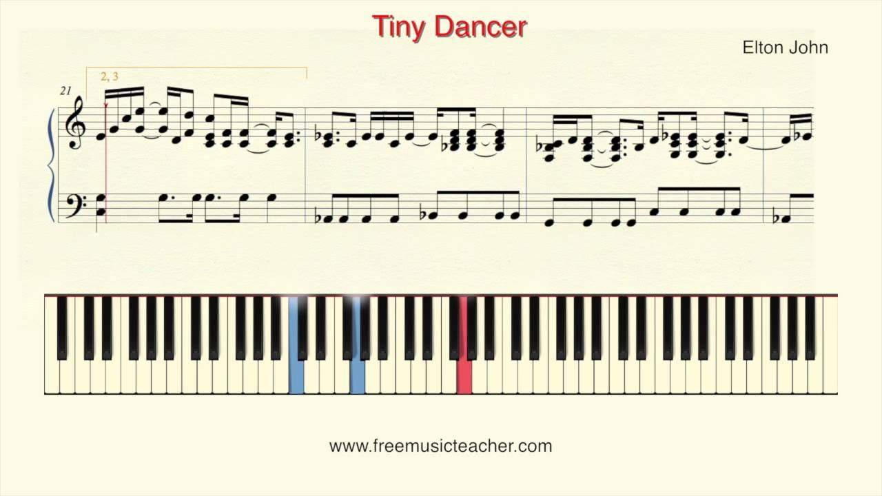 How to play piano elton john tiny dancer piano tutorial by how to play piano elton john tiny dancer piano tutorial by ramin yousefi youtube hexwebz Images