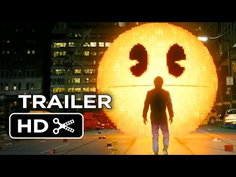 Pixels Official Trailer #1 (2015) - Adam Sandler, Peter Dinklage Movie HD