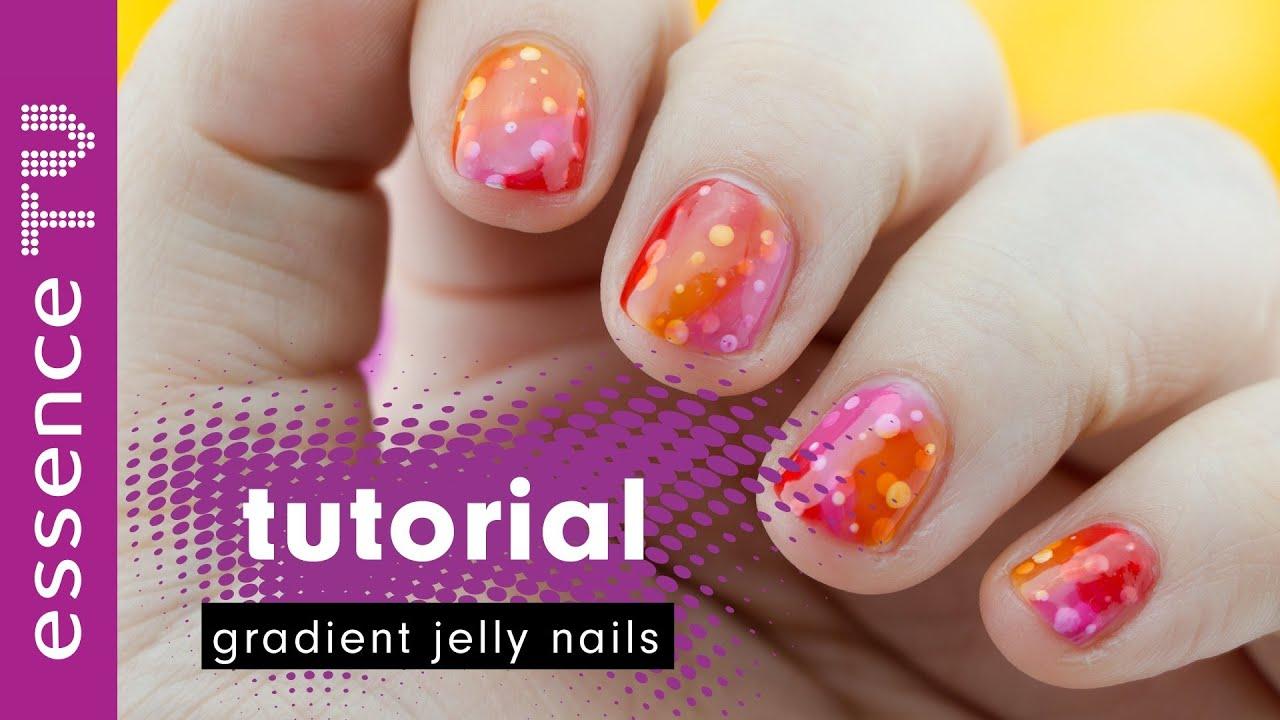 jelly nails nail art designs nageldesign deutsch - gradient - für ...