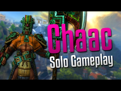 Smite: Game of Throws- Chaac Solo Gameplay