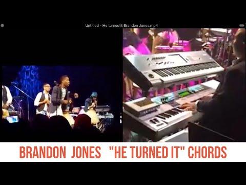Brandon Jones plays He Turned It. Short breakdown using 2-5-1