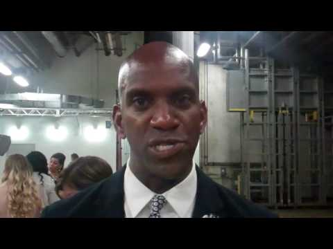 Carnival College Scholarship Ceremony, Interviews at Miami Heat 2017