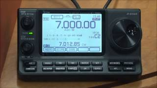 icom ic 7100 base station operation