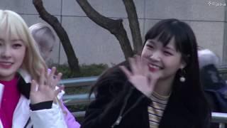 20181207 드림노트 뮤직뱅크 출근길