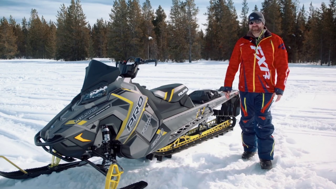 Test Ride 2017 Polaris 800 Pro Rmk 174