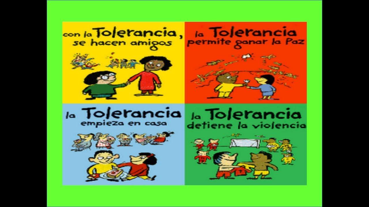 Aprendo A Ser Tolerante Siendo Tolerante