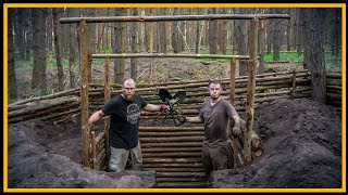 Bushcraft Camp [S04/E06] Grubenhaus 2.0 - Lagerbau Outdoor Super Shelter